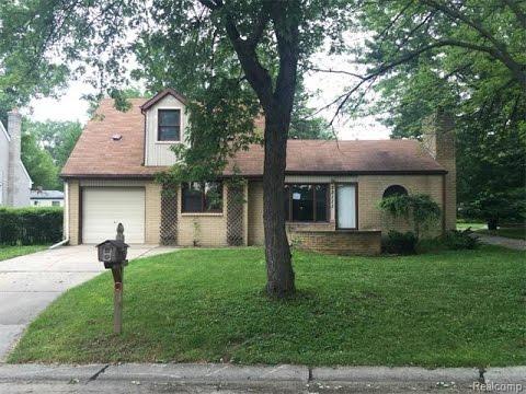 Farmington Hills Michigan House For Sale, Farmington House Values, Albion Ave.