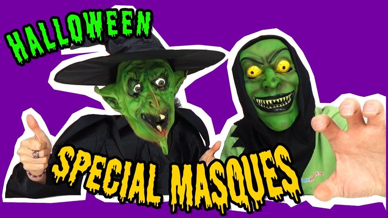 La Fete Halloween.Special Fête Halloween Les Masques Qui Font Peur