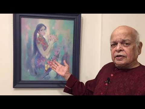 Paintings through the eyes of the artist himself (Part 5) - Ravi Paranjape