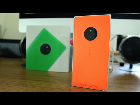 Nokia Lumia 830 unboxing and hands on