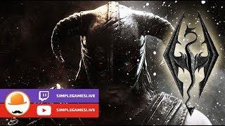 The Elder Scrolls V: Skyrim   В поисках сисек и драконов! #1  Стрим SimpleGamesLive