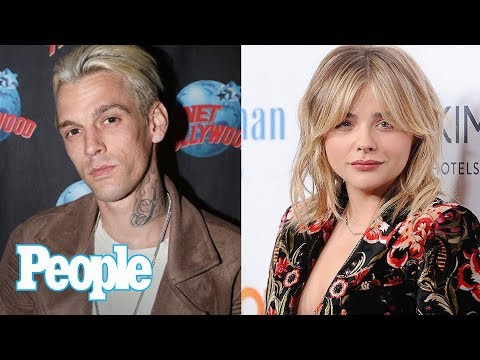 Aaron Carter Asked Chloë Grace Moretz Out On A Date Via Twitter | People NOW | People