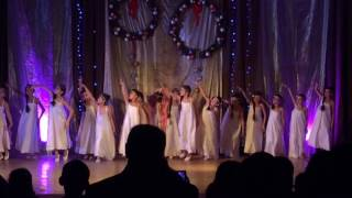 """Танец под песню """"Аве Мария"""" танцует хореографическая группа Степ. ЦТ."""