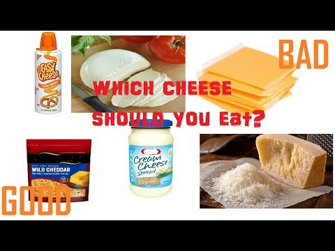 Natural Cheese Vs Processed Cheese.