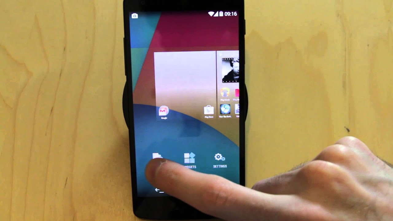 how to set wallpapers in android 4 4 androidizen