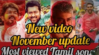 Most Viewed Tamil  Song oN Youtube |Moviesstar