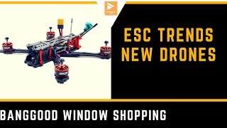 Latest FPV Racing Drones , NEW ESC Trends // Banggood Window Shopping
