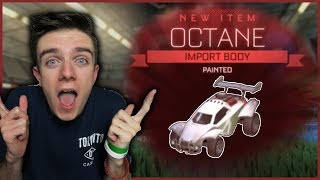 GETTING TITANIUM WHITE OCTANE & BOOST | Rocket League Trade ups