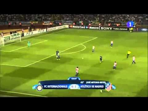Inter - Atlético Madrid 0-2 Super Cup (27-8-2010) Highlights
