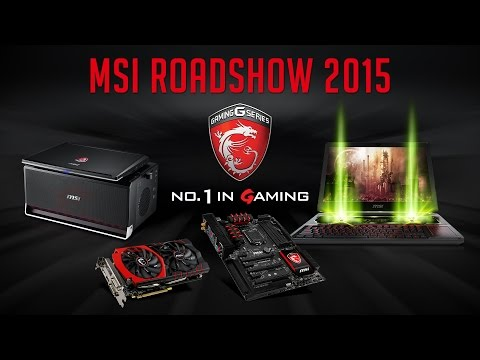 [LIVESTREAM] MSI Gaming RoadShow 2015 - VUT Brno 31.3.2015 (