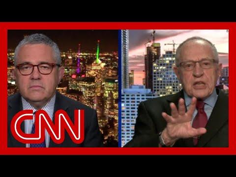 Watch Dershowitz's former