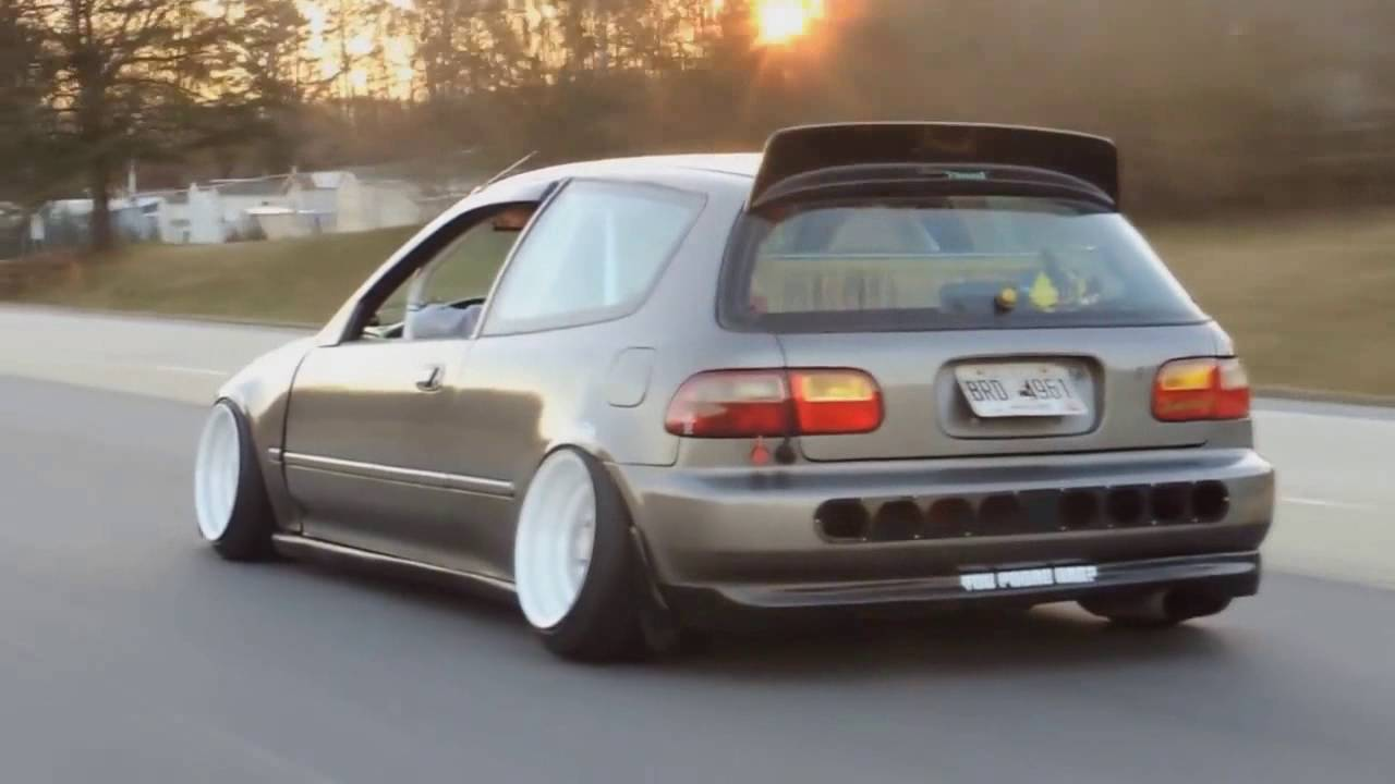 HONDA CIVIC EG STANCE | POUR IT UP | BELOGUROW - YouTube