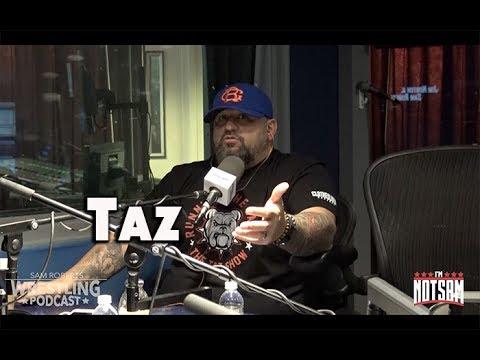 Taz - Doomed WWE Run, commentary, TNA, ECW, etc - Sam Roberts