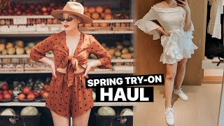 Spring Try On Haul + Outfit Ideas!