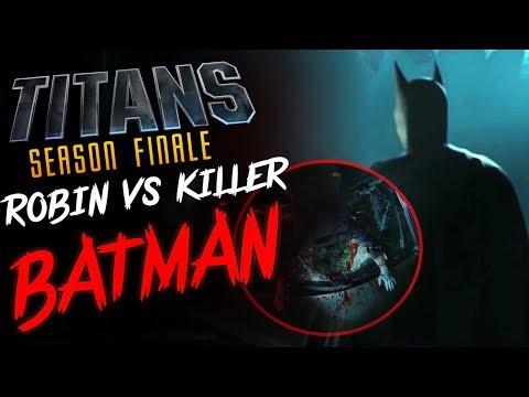 TITANS Season FINALE BATMAN KILLS JOKER?!