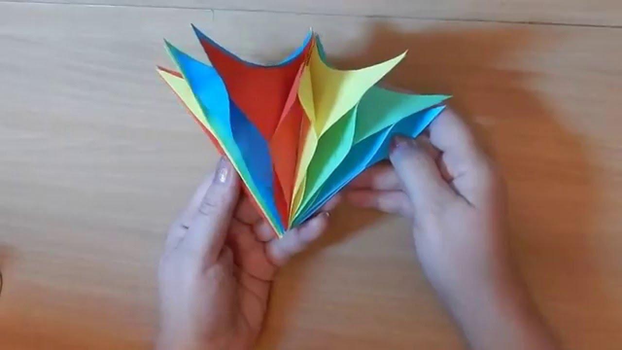 Фонарик на новый год своими руками из бумаги