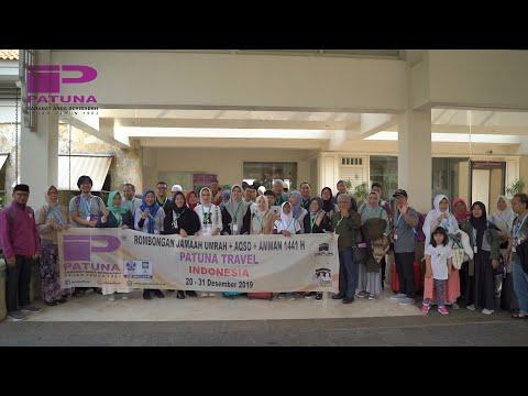 PATUNA TRAVEL - (3) KESAN & PESAN rombongan Jamaah Haji 2018 Patuna Grup BIRU.