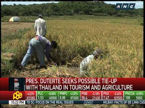 PH seeks tie-up with Thailand in tourism, agriculture
