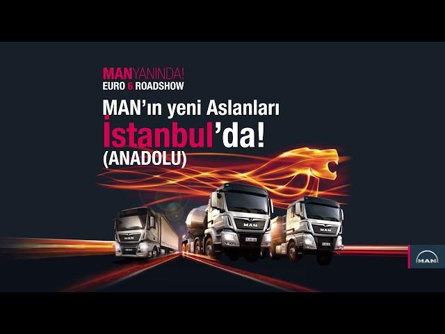 MAN Yan?nda Euro 6 Roadshow / ?stanbul Anadolu