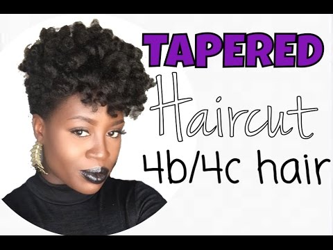Tapered Natural Haircut On 4b4c Hair Lioness Davis Youtube