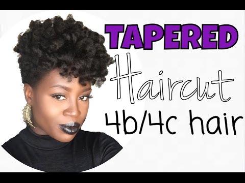 tapered natural haircut 4b 4c