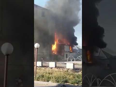Туркестан пожар