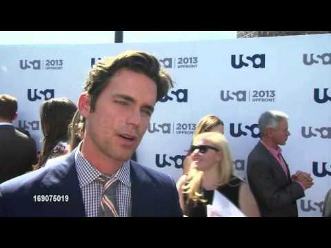 Matt Bomer  Usa network upfront 2013