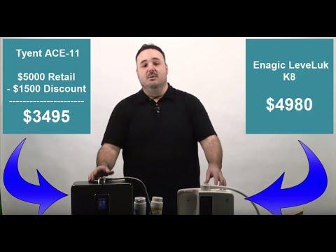 Enagic vs Tyent: Which 2016 Water Ionizer is Best?