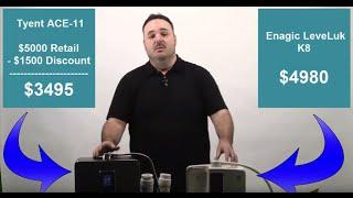 Enagic vs Tyent: Which 2019 Water Ionizer is Best?