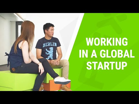 Why is working in a global start-up awesome?