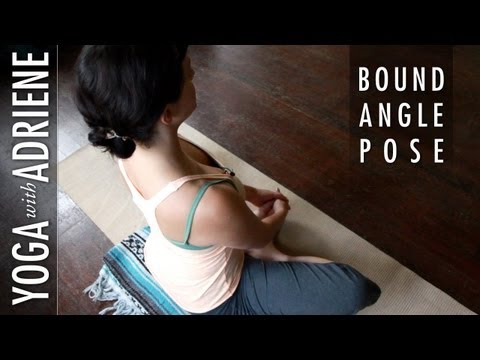 Bound Angle Pose Yoga With Adriene