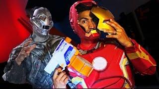 NERF Avengers Challenge!