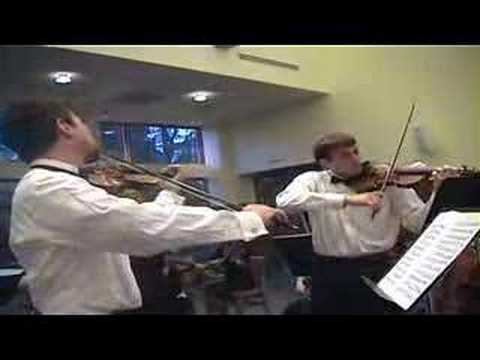 Bach Concerto for Two Violins (1) Christopher Coll...