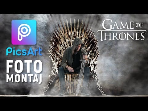 GAME of THRONES Demir Taht Fotomontajı | Picsart Tutorial thumbnail