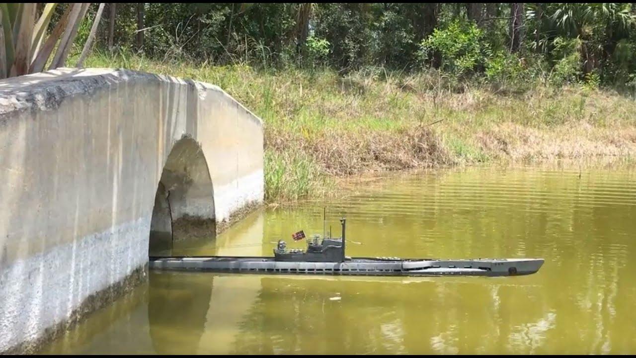 German Type Ixd Rc Submarine In 148 Scale Youtube