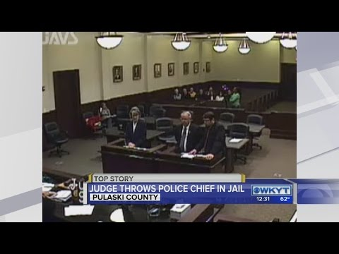 Judge rejects plea deal from longtime Science Hill Police Chief