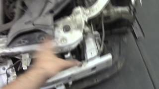 Кузовной ремонт. Мицубиси Лансер, удар в порог. Body repair.