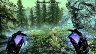 Skyrim High Level Mage Gameplay - Boethiah