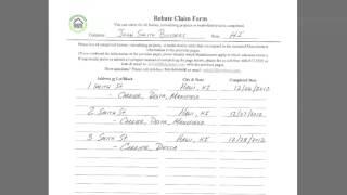 Rebate Claim Form - Used Same Products