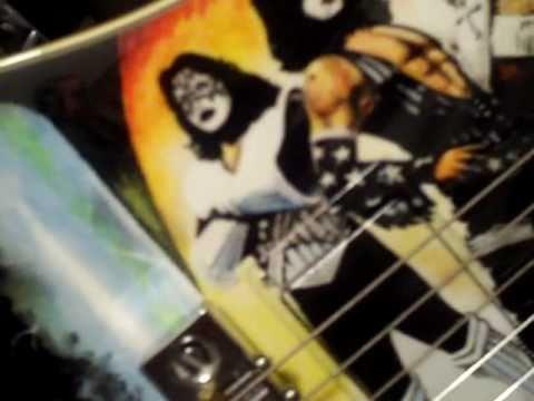 THE ULTIMATE KISS GUITAR!! 1978 Ibanez Iceman Love Gun /Solo album theme!!