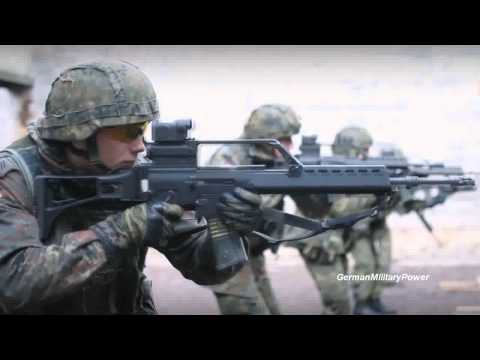 German Military Power Demonstration | The Germans Are Coming | HD
