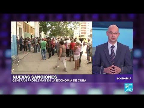 Endurecimiento de sanciones estadounidenses genera falta de productos y control de compras en Cuba