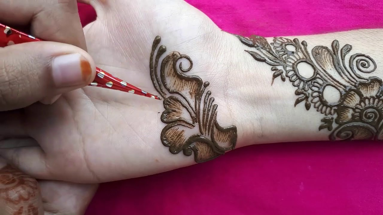 stylish mehndi latest mehandi designs 2020