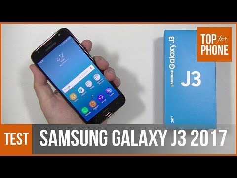SAMSUNG GALAXY J3 2017 - test par TopForPhone
