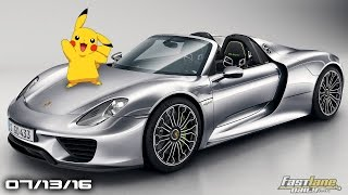 Pokemon Go In A Porsche 918, Tesla Roadster 340 Mile Upgrade, Santa Cruz Pick Up- Fast Lane Daily