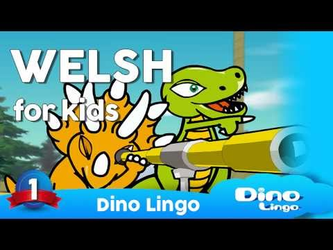 Welsh for kids DVD set - Children learning Welsh, Cymraeg, W