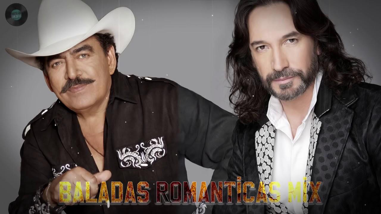 Joan Sebastian Y Marco Antonio Solís éxitos Sus Mejores Baladas Románticas Youtube