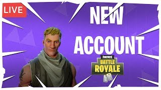 NEW ACCOUNT! (Solo & Duo) - Fortnite Battle Royale - Pro & Funny Plays - Montages - Live Stream #68