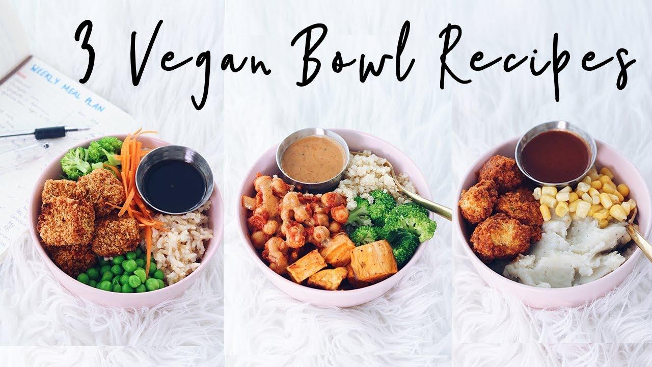 3 easy vegan recipes meal plan diy youtube 3 easy vegan recipes meal plan diy forumfinder Choice Image