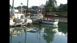 2004 To Alaska from Prince Rupert BC by boat part 1